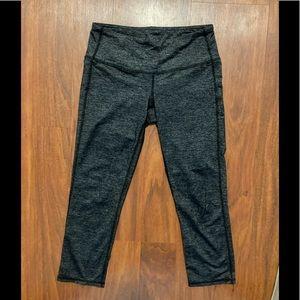 Athleta gray crop yoga pants XS